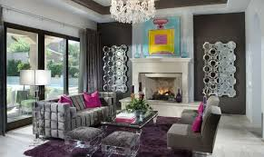 Purple Living Room For Vibrant E On Furniture Light Grey Sofa
