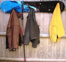 Coat Rack Board Ski Chair Snow Board Coat Rack with Wooden Peg Reviews Wayfair 70