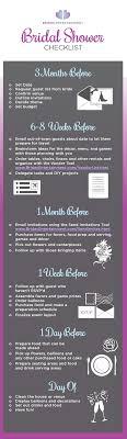 Bridal Shower Checklist Pinteres