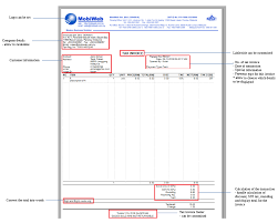Tax Invoice Examples Sales And Service Tax Invoice Sst Tax Malaysia Tax Pos