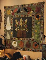120 best Seasonal Quilts images on Pinterest | Halloween quilts ... & Sew Unique Creations: Primitive Quilts and Projects Magazine Adamdwight.com