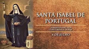 Hoje é celebrada Santa Isabel de Portugal, rainha da concórdia e da paz