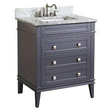 850 eleanor 30 inch vanity carrara charcoal gray