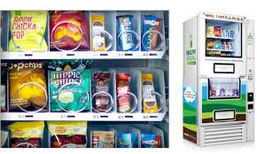 Healthy Snacks Vending Machine