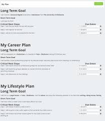 career plan cool features create your career plan transitionspot