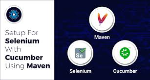 setup for selenium with cuber using maven