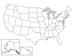 blank states map26 blank states map dr odd on printable map of the united states and estern canada