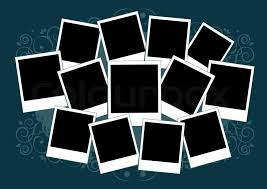 Template For Picture Collage Collage Of Photos Template Insert Stock Vector