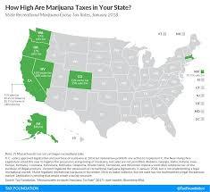 How High Are Marijuana Taxes In Your State Tax Foundation
