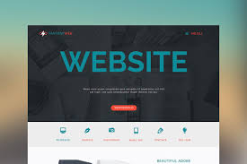 Muse Website Templates Fantasy Web One Page Muse Template Website Templates Creative Market 1