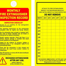 Welcome to r/funny, reddit's largest. Monthly Fire Extinguisher Inspection Record Tag Gulf Safety