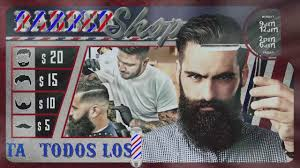 barber flyer barbershop flyer animado after effects gratis youtube