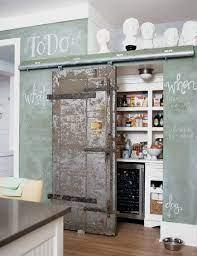 chalkboard paint kitchen walls