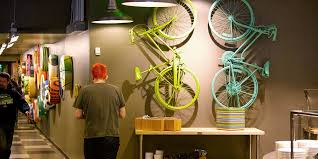 google office in seattle. fun and colorful touches like these bikes dot our seattle office pay tribute to the local culture google in