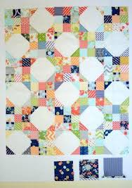 Snowball Nine Patch Pattern | FaveQuilts.com & Snowball Nine Patch Pattern Adamdwight.com