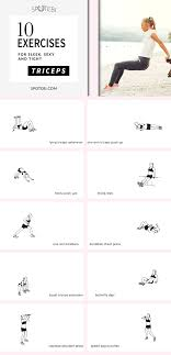 At Home Triceps Workout For Women Best Exercises For