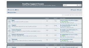 Access forum.kryoflux.com. KryoFlux Support Forums - Index page