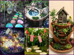 Small Picture Amazing DIY Fairy Garden Decorating Ideas Miniature Fairy Garden