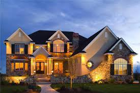 lighting a house. Architecture-attractive-cool-shaped-houses-with-orange-light- Lighting A House