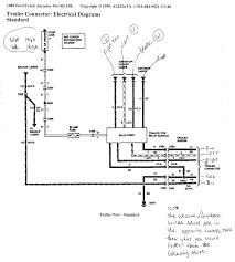 wiring diagrams 7 pin trailer connector trailer plug trailer