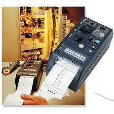 Hioki Chart Recorder Hioki 8206 10 Dual Channel Voltage Current Strip Recorder