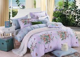 china bright color purple flower bedding sets china bedding set bedding