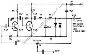 simplecircuitdiagram com fuzz pedal wiring diagram fuzz box (distorion pedal) electric guitar effect
