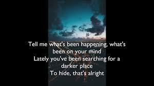 Light On Lyrics Tom Walker Leave A Light On Lyric Video