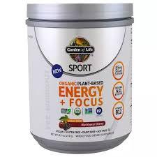 Garden Of Life <b>Organic Energy</b> Focus Pre-Workout