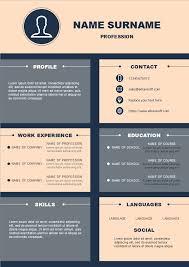 Modern Resume Infographics Modern Infographic Resume Free Modern Infographic Resume