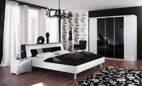 Bedroom : Splendid Black And White Bedroom Ideas Bedroom Interior  Prodigious Black Iron Chandelier Over White Full Size Bed Frame Also White  Wall Color As ...