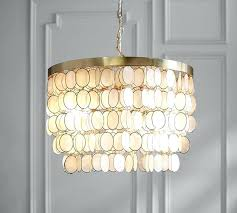 capiz chandelier roll over image to zoom tiered west elm capiz chandelier round king size with natural white tiered west elm