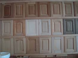 sample picture of unfinished solid wood kitchen cabinet doors