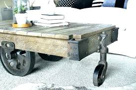 coffee table tables factory cart from furniture arhaus outdoor