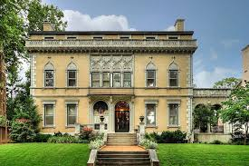 this lavish 1901 mansion was built just before the world s fair in st louis missouri with its marble floors stained glass windows and ceiling frescoes