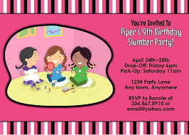 How To Make A Sleepover Invitation Top Girl Slumber Party Games For An Awesome Night O Fun