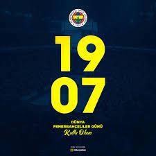 Fenerbahçe Beko - 19.07 Dünya Fenerbahçeliler Günü kutlu...
