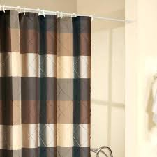 Brown And Tan Shower Curtain Fabric Shower Curtain Beige Gray And