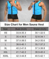 Manladi Men Sauna Vest Neoprene Zip Sweat Vest Gym Weight Loss Sauna Suit