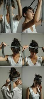 Head Wrap Instructions Hadry A Boty Nápady Na účesy účesy A