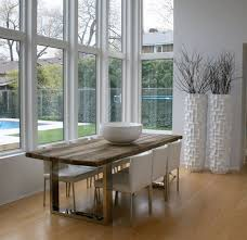 R View In Gallery Modern Dining Space Sports Unique Floor Vases White