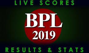 Bangladesh Premier League 2019 Full Schedule Team Squads