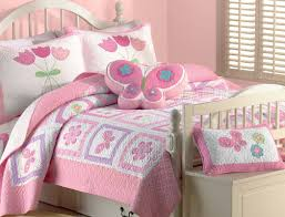 Cozy Line Home Fashion Butterfly Flower 2 Piece Twin Quilt Set ... & Butterfly Flower 2 Piece Twin Quilt Set Adamdwight.com