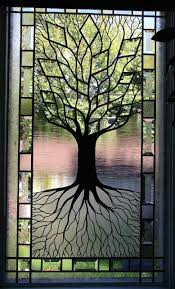 tree of life stained glass window i think i can do this maybe a summer project