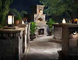 outdoor fireplace pizza oven combo rustic combination