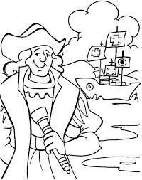 Christopher Columbus Three Ships Coloring Pages Photo Album