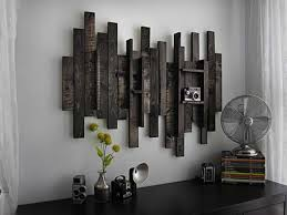 rustic wood wall art decor diy pallet wood white