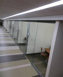 Office Glass Door Glazed With NxtWall