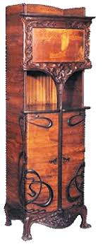 art nouveau furniture. in the forerunner to this period a trade treaty between u.s. and japan 1854, sanctioned japanese art become available after almost 200 years of nouveau furniture