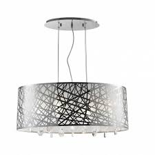worldwide lighting julie 6 light chrome oval drum chandelier with within elegant drum chandelier for your